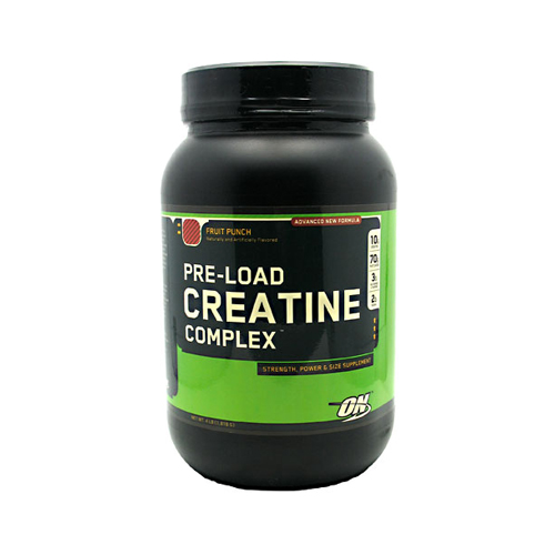 Optimum Nutrition Pre-Load Creatine Complex Fruit Punch - 4 lbs