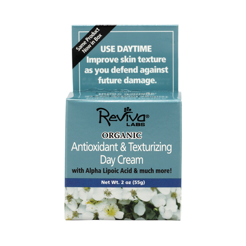 Reviva Labs Organic Antioxidant and Texturizing Day Cream 2 oz.