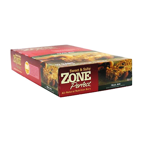 Zone Perfect Sweet & Salty Bar Trail Mix - 12 bars