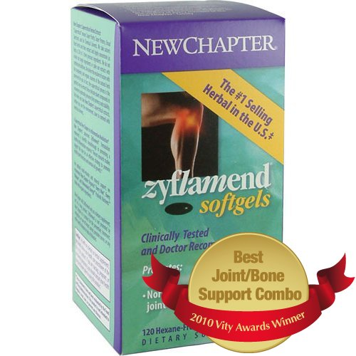 New Chapter Zyflamend - Promotes a Healthy Inflammation - 120 softgels